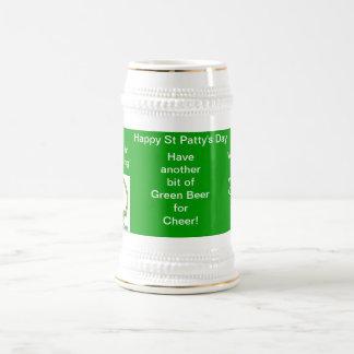 Happy St Patty's Day Beer Stein Beer Steins