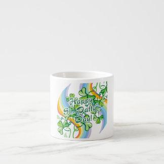Happy St. Patty's Day Espresso Mug