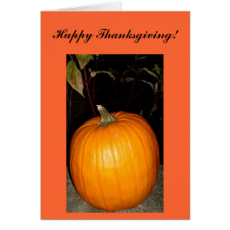 Happy Thanksgiving! Card