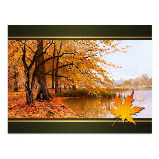 Happy Thanksgiving. Fine Art Postcard