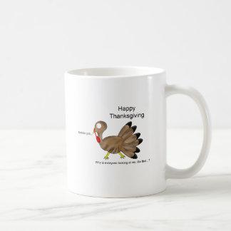 Happy Thanksgiving Gobble gob… Basic White Mug