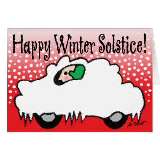 Happy Winter Solstice! Greeting Card