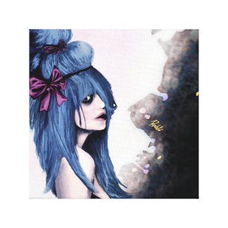 Harajuku style gallery wrapped canvas