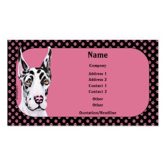 Harle Pup Great Dane Business Card