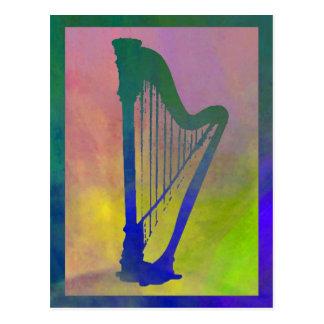 Harp 6 postcard