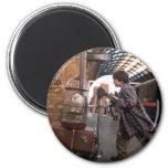 Harry and Hedwig Platform 9 3/4 6 Cm Round Magnet