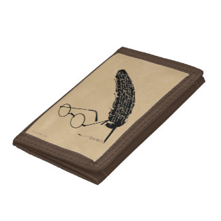 HARRY POTTER™ Glasses And Quill Trifold Wallets