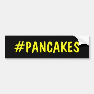 Hashtag Pancakes Bumper Sticker