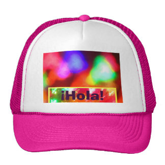 Hat - ¡Hola! - Abstracto Multicolor