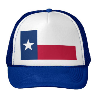 Hat with Flag of Texas State - USA