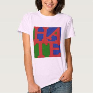 HATE Anti Valentine Design Tee Shirt