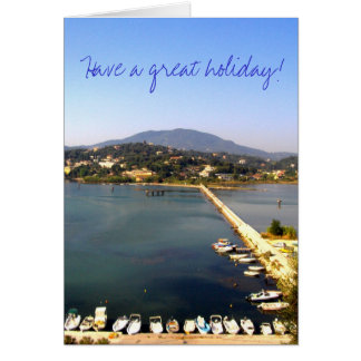 Have a great holiday! greeting card