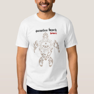 HAWAII: Punaluu Beach on the Big Island Turtle T T-shirts