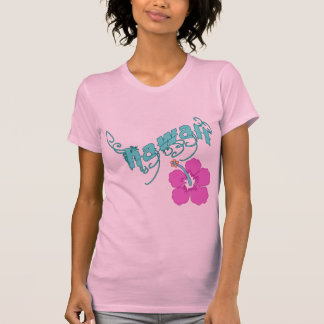 Hawaii with Hibiscus Products T-shirts