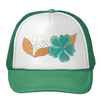 hawaiian flower cap
