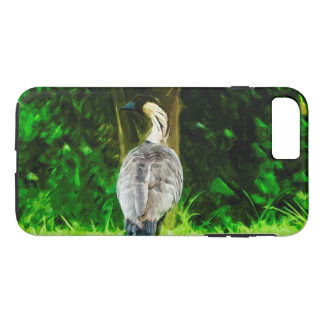 Hawaiian Nene Abstract Impressionism iPhone 7 Plus Case