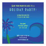 Hawaiian Surf Holiday Party Invitation