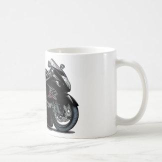 Hayabusa Black Bike Basic White Mug