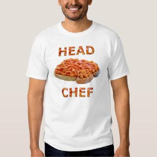 Head Chef Beans on Toast Tee Shirt