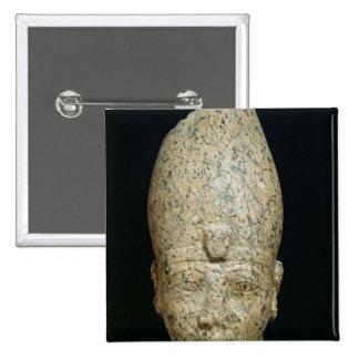 Head of Hatshepsut 15 Cm Square Badge