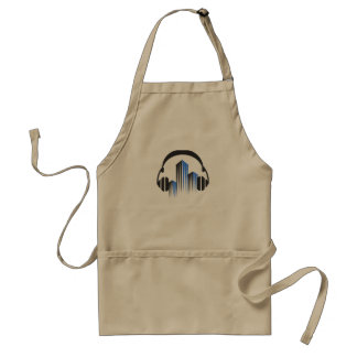Headphones with Frequency-Equalizer DJ Music Sound Standard Apron