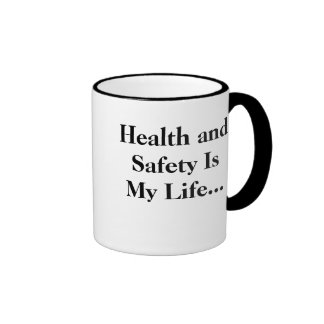 Health and Safety Is my Life - STAND BACK! Ringer Mug
