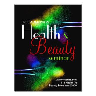 Health Beauty Seminar Flyer Invitation