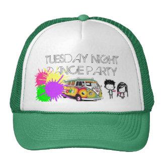 heart, Hippie-13, paintsplatter, TUESDAY NIGHTD... Cap