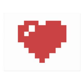 heart postcard horizontal