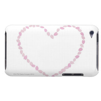 Heart Shaped Cherry Blossom Barely There iPod Cases