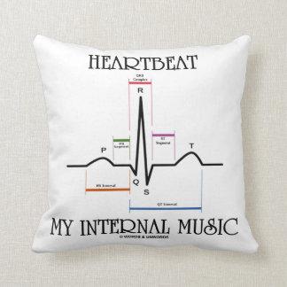 Heartbeat My Internal Music (Electrocardiogram) Cushions