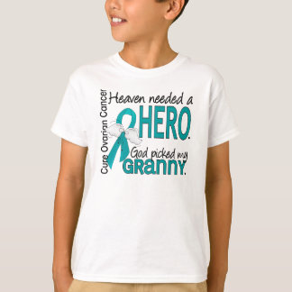 Heaven Needed a Hero Granny Ovarian Cancer Tees