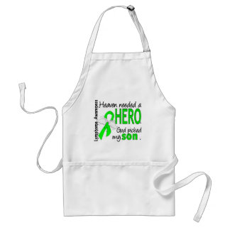 Heaven Needed a Hero Son Lymphoma Standard Apron