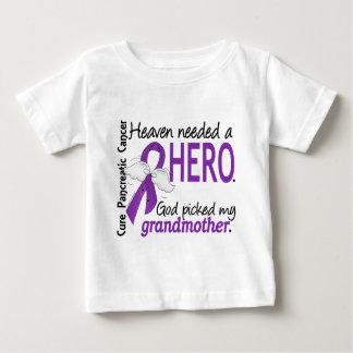 Heaven Needed Hero Grandmother Pancreatic Cancer Tshirt