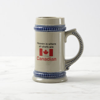 Heavenly Canadian Chefs Beer Steins