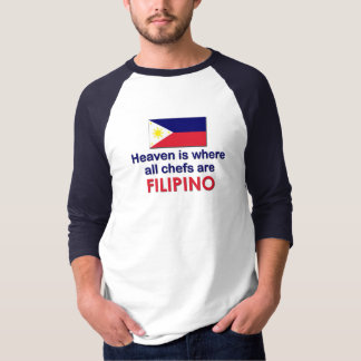 Heavenly Filipino Chefs Tee Shirt