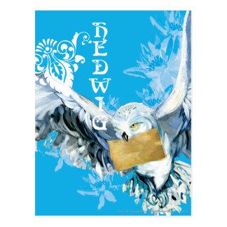 Hedwig Postcard