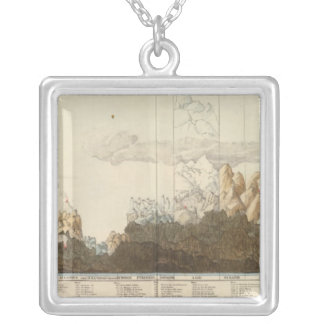 Heights of the World Square Pendant Necklace