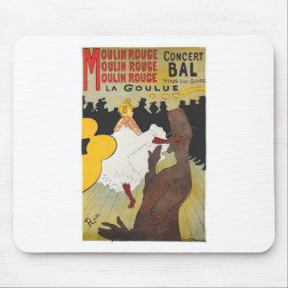 Henri de Toulouse Lautrec Moulin Rogue Mouse Pad