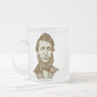 Henry David Thoreau Personalized Quote Mug