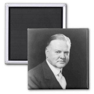 Herbert Hoover Square Magnet
