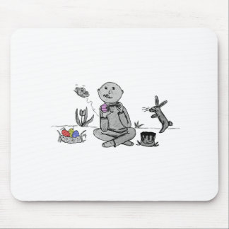 Herbert paints Easter Eggs Mouse Pad
