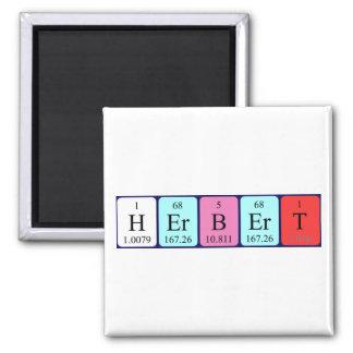 Herbert periodic table name magnet
