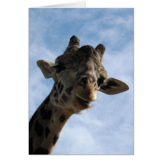 Here's looking at you! note card