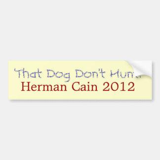 Herman Cain bumpersticker Bumper Sticker