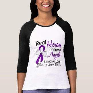 Heroes Become Angels Cystic Fibrosis Shirts