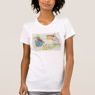 Hey, diddle, diddle!  The cat and the fiddle Tshirt