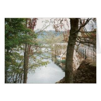 Hiawasee Dam Greeting Card