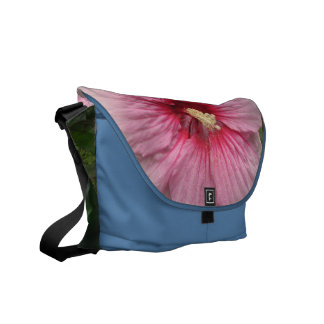 Hibiscus Summer Storm Messenger Bag