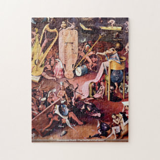 Hieronymus Bosch - The Garden of Hell detail PUZZL Puzzles